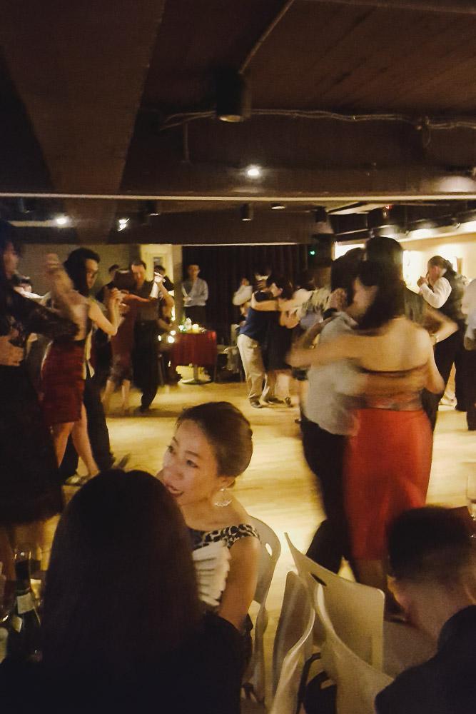 Taiwan tango dancing